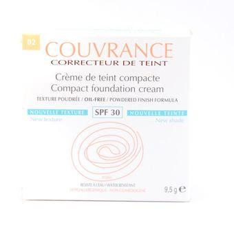AVÈNE COUVRANCE CORRECTEUR DE TEINT CREME DE TEINT COMPACT 02 10G