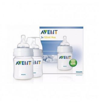 AVENT 2 BIBERONS TWIN PACK 2 x 125ML