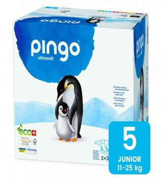 Pingo Couches Junior Taille 5 11-25kg/36pcs