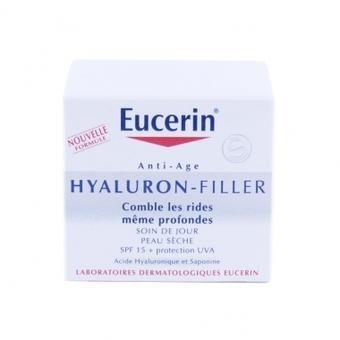 EUCERIN ANTI-AGE HYALURON-FILLER SOIN DE JOUR PEAUX SECHES 50ML