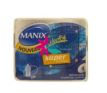 MANIX SUPER PRATIQUE BOITE DE 4