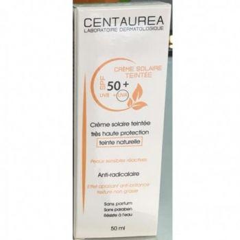 CENTAUREA CRÈME SOLAIRE TEINTÉE SPF 50+ (50ML)