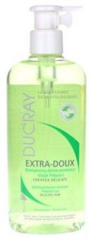 DUCRAY EXTRA DOUX SHAMPOOING DERMO PROTECTEUR USAGE FREQUENT 400ML