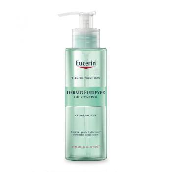 Eucerin dermopurifyer oil control gel nettoyant 200ml