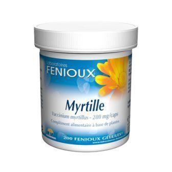 FENIOUX MYRTILLE 200 GÉLULES