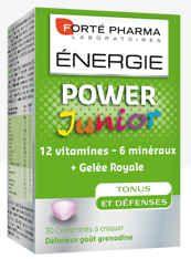 FORTE PHARMA ENERGIE POWER JUNIOR 30 COMPRIMES