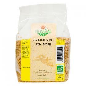 PRIMEAL graines de lin doré 250g