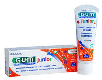 GUM JUNIOR DENTIFRICE 7+ 50ML