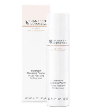 Janssen cosmetics poudre nettoyante teint lumineix
