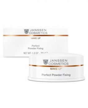 janssen cosmetics powder fixing perfect 30g