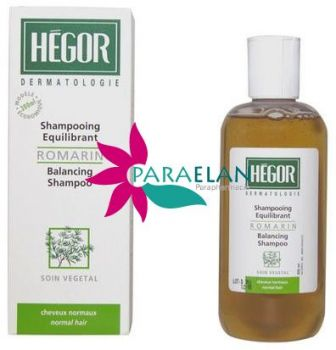 HÉGOR SHAMPOOING EQUILIBRANT ROMARIN 300ML