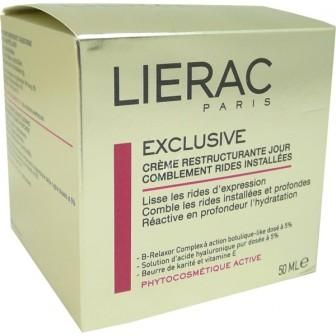 LIERAC EXCLUSIVE CREME RESTRUCTURANTE JOUR 50 ML