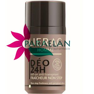 LIERAC HOMME DÉO 24H ROLL-ON ANTI-TRANSPIRANT FRAICHEUR NON STOP 50ML