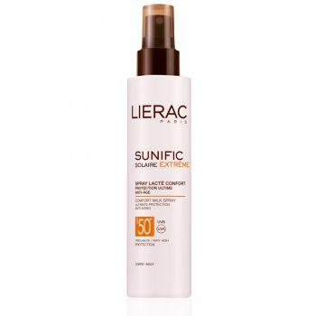 LIERAC SUNIFIC EXTREME Spray Lacté Confort SPF 50+ 150 ML