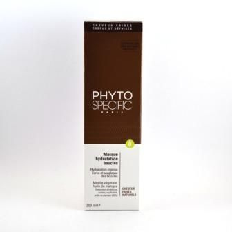 PHYTOSPECIFIC MASQUE HYDRATATION BOUCLES CHEVEUX FRISES NATURELS 200 ML