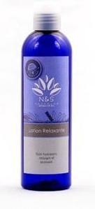 N&S LOTION RELAXANTE 250ML soin hydratant, relaxant et apaisant (convient en période de grossesse)
