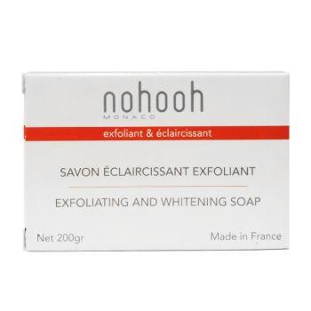 Nohooh savon eclaircissante exfoliant citronnelle 200g
