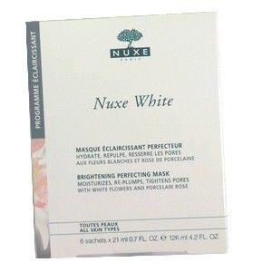 NUXE WHITE MASQUE ECLAIRCISSANT PERFECTEUR 6*21ML
