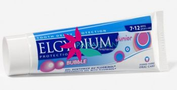 ELGYDIUM PROTECTION CARIES JUNIOR BUBBLE 7-12 ANS 50ML
