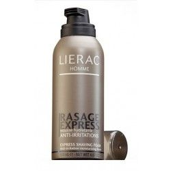 LIERAC HOMME RASAGE EXPRESS MOUSSE HYDRATANTE ANTI-IRRITATIONS 150ML