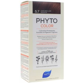 Phytocolor 5.7 chatain claire maron