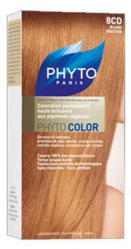 PHYTO COLOR COULEUR SOIN AUX PLANTES TINCTORIALES BLOND VENITIEN N:8CD