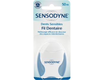 SENSODYNE DENTS SENSIBLES FIL DENTAIRE 50M