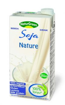 NATUR GREEN LAIT DE SOJA NATURE 1L