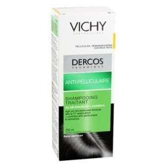 VICHY DERCOS ANTI-PELLICULAIRE CHEVEUX SECS 200ML