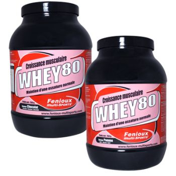 FENIOUX  MULTI-SPORTS COMPLEXE PROTÉINIQUE WHEY 80 ASSIMILATION RAPIDE 750G